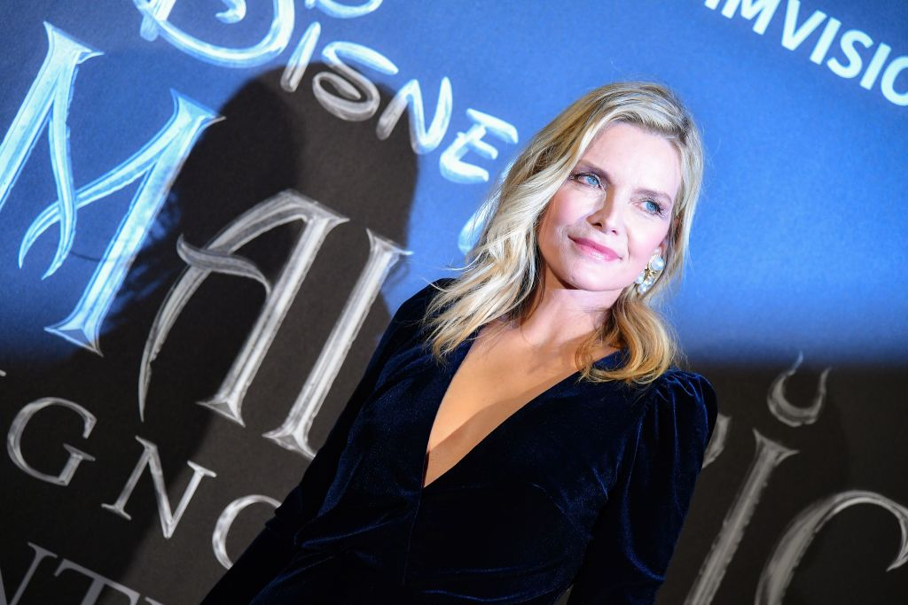 Michelle Pfeiffer at the premiere of 'Maleficent: Mistress of Evil'