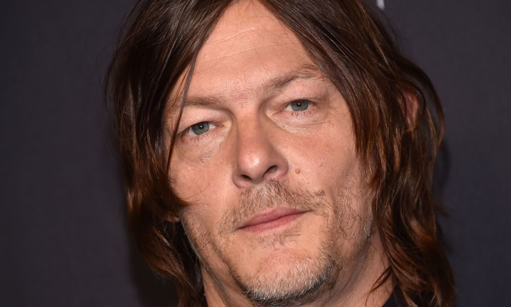 """Norman Reedus arrives for the PaleyFest presentation of AMC's """"The Walking Dead"""" at the Dolby theatre on March 22, 2019 in Hollywood."""