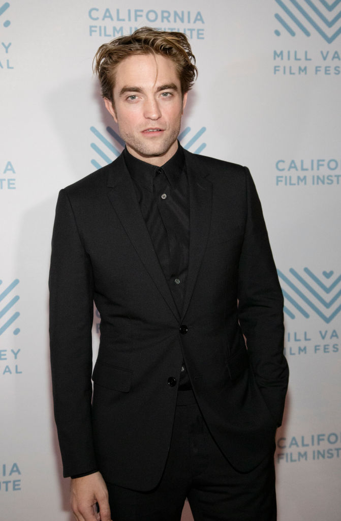 Robert Pattinson on the red carpet at the Mill Valley Film Festival.