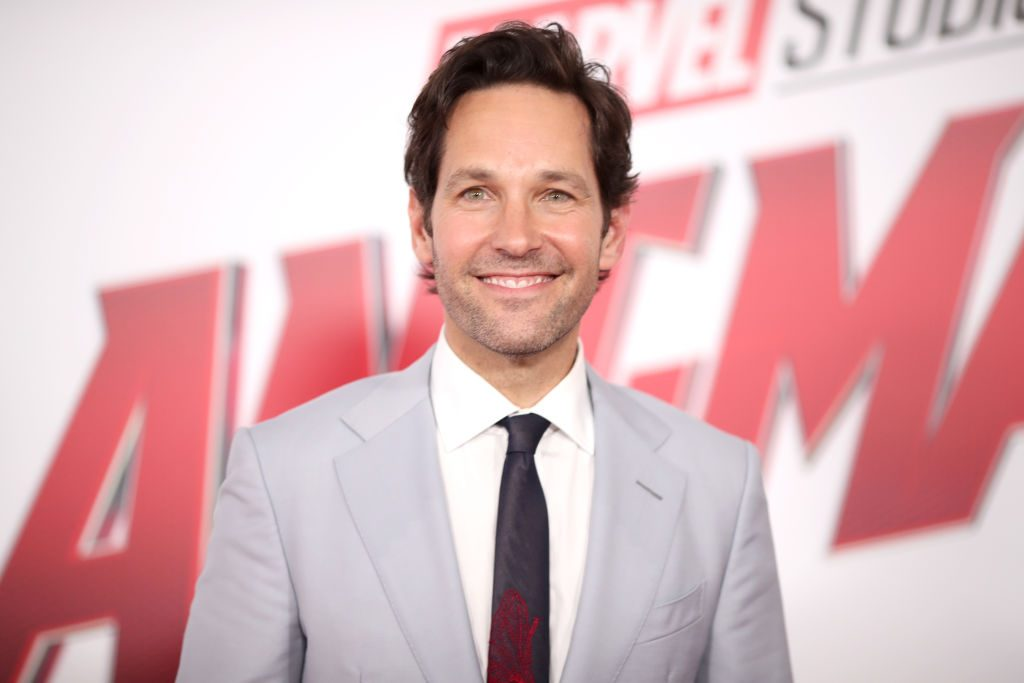 """Paul Rudd attends the premiere of Disney And Marvel's """"Ant-Man And The Wasp."""""""