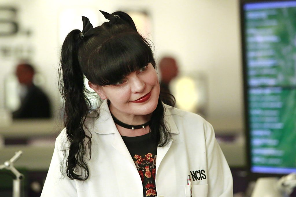 Pauley Perrette plays Abby on 'NCIS.'