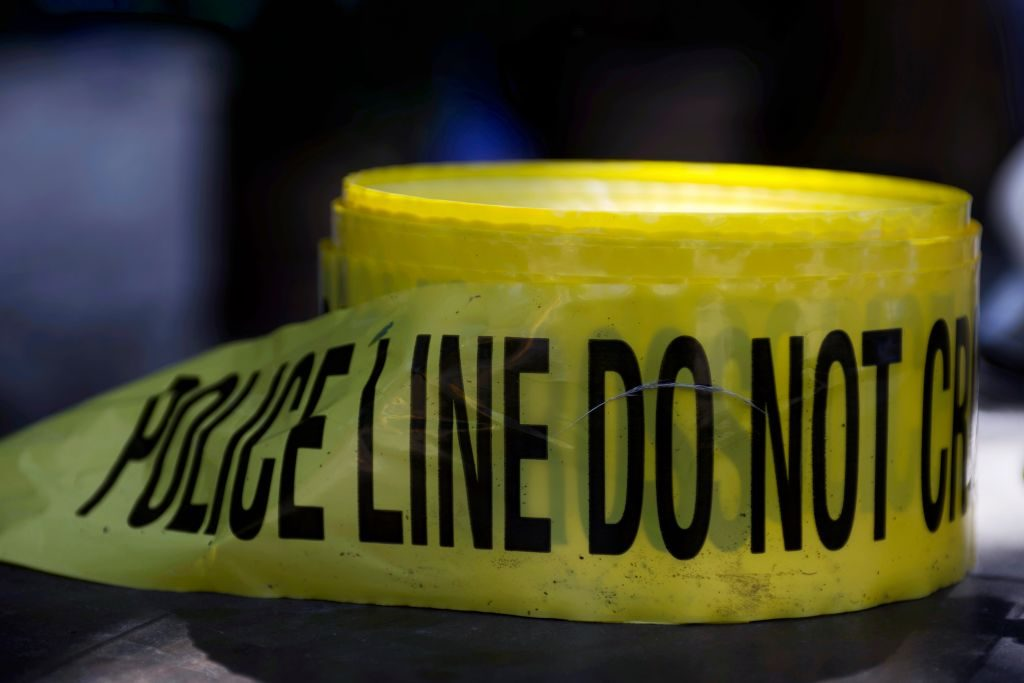A roll of police tape