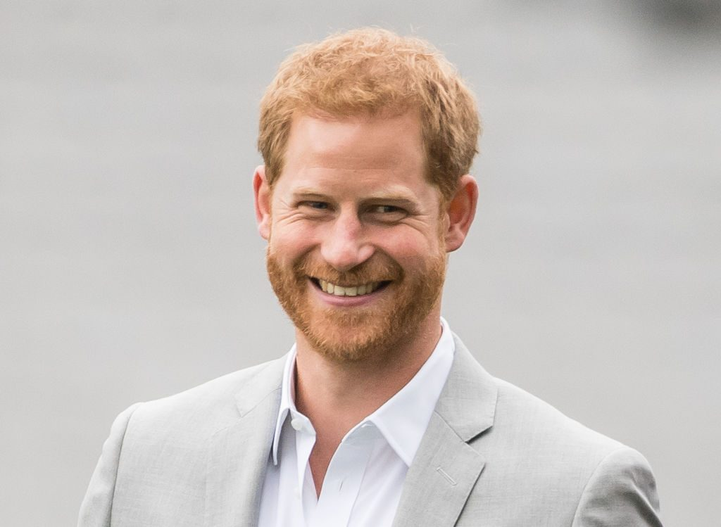 Prince Harry visits Croke Park.
