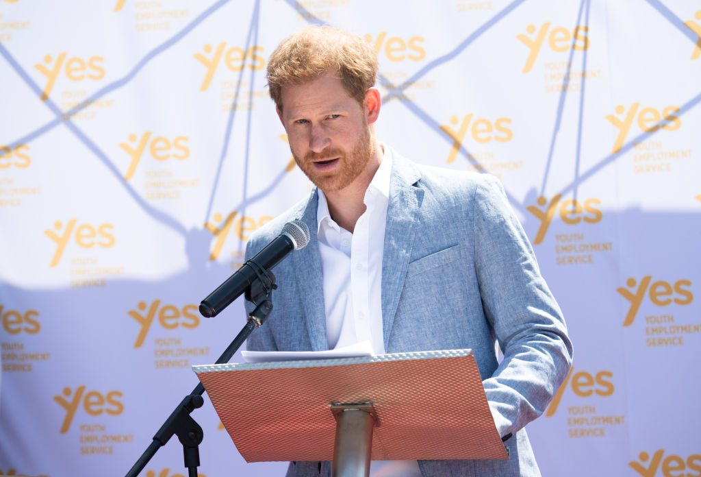 Prince Harry connection to Africa