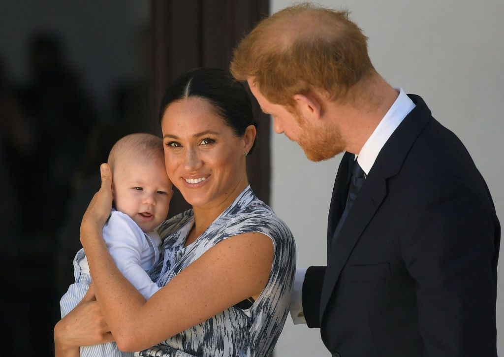 prince harry meghan markle baby archie history