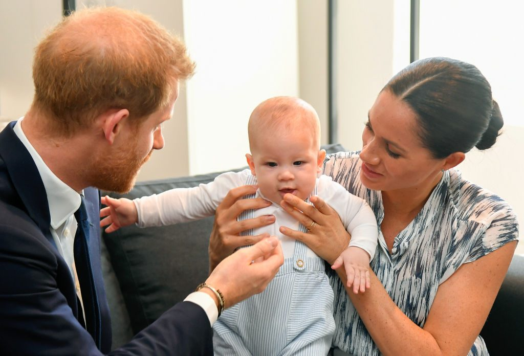 prince harry meghan markle baby archie update