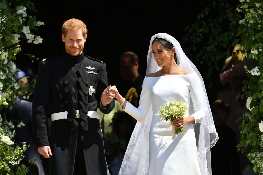 prince harry meghan markle first year marriage