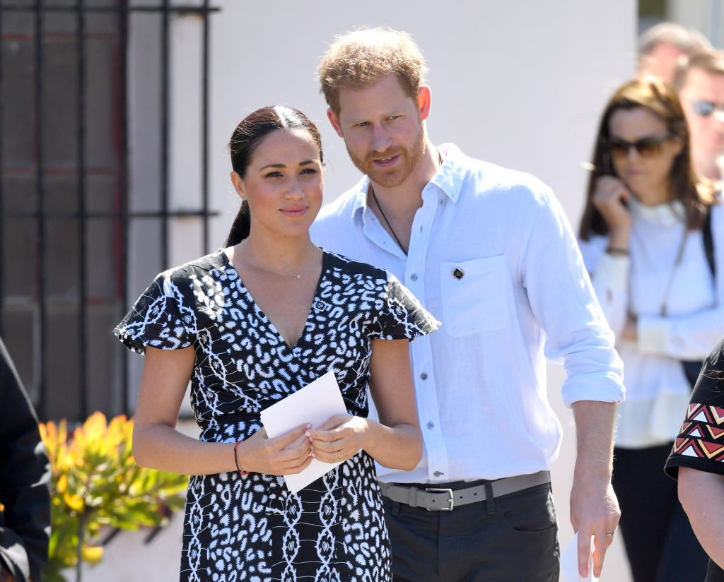 prince harry protective meghan archie