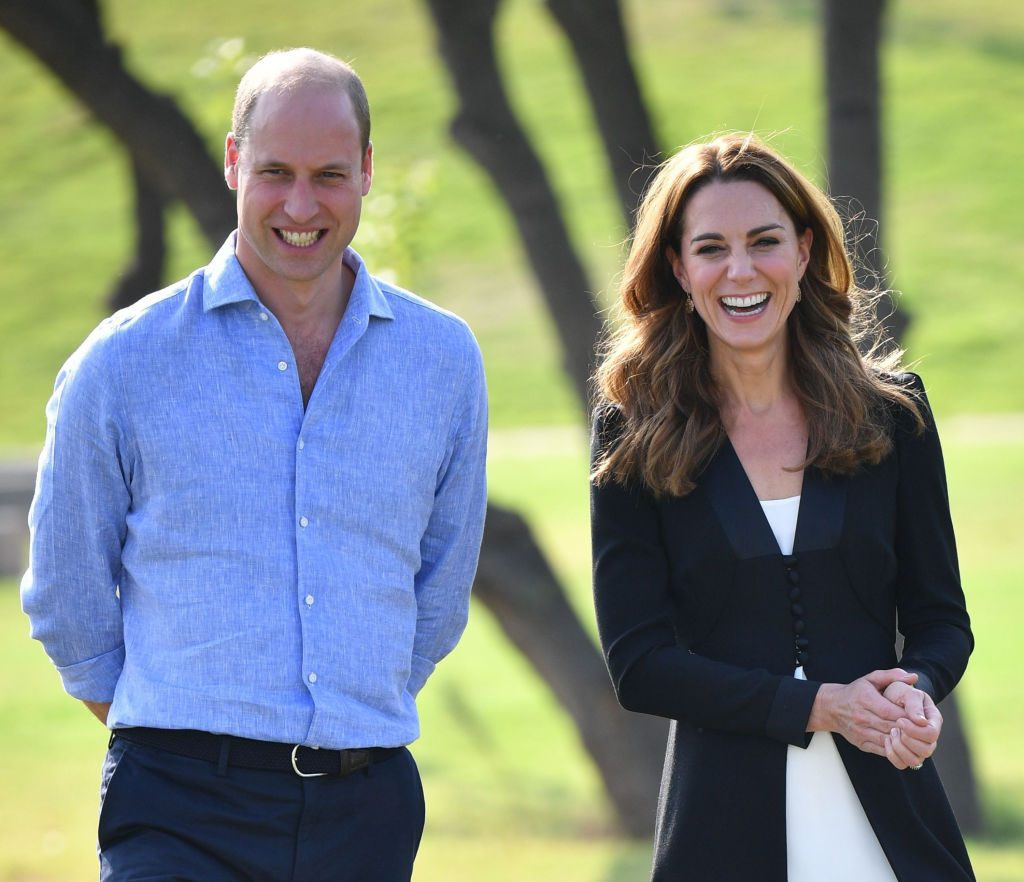 Prince William and Kate Middleton visit Pakistan's Army Canine Centre.