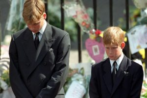 Prince Harry and Prince William's Experience at Princess Diana's Funeral 'Was Absolutely Inhuman,' According to Elton John