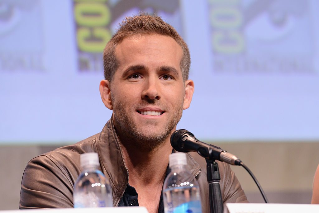 Ryan Reynolds of 'Deadpool' speaks onstage at the 20th Century FOX panel during Comic-Con International 2015.