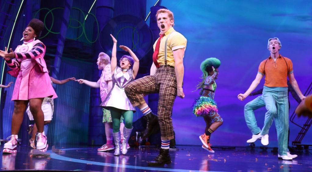 Spongebob musical on Broadway