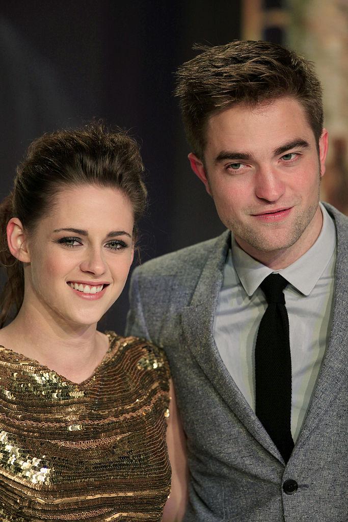 Kristen Stewart and Robert Pattinson at the German premiere of 'Breaking Dawn: Part 2.'