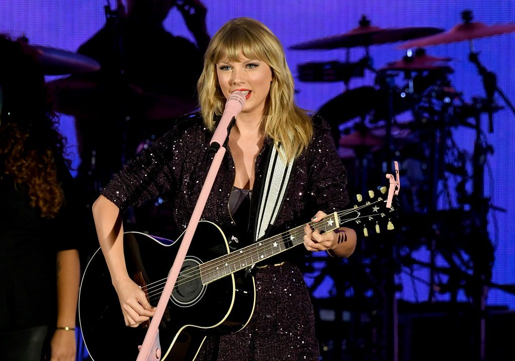 Taylor Swift performs onstage during the 7th Annual We Can Survive at The Hollywood Bowl on October 19, 2019