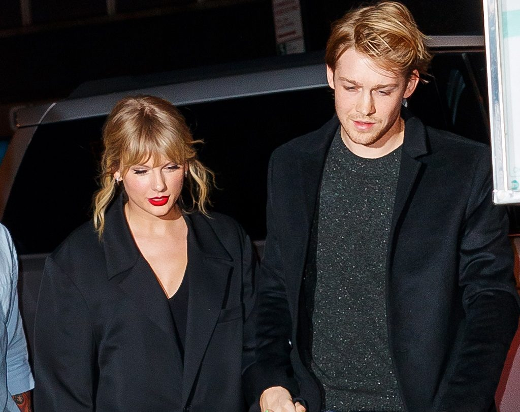 Taylor Swift and Joe Alwyn on October 06, 2019 in New York City.
