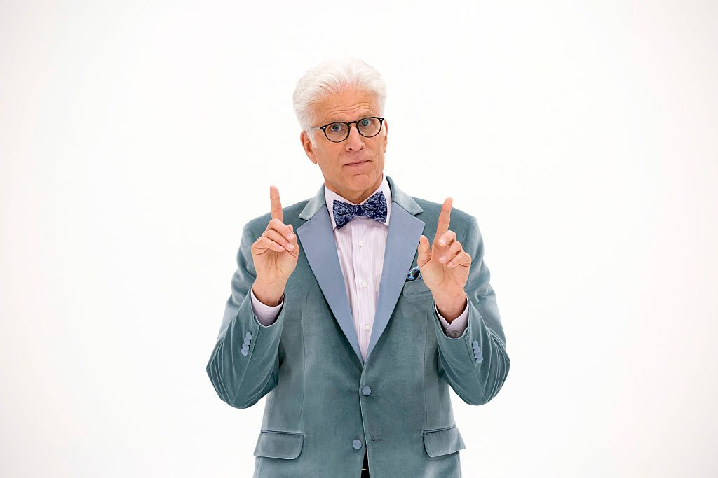 Ted Danson portrays Michael, a demon disguised as a human, on NBC's 'The Good Place.'