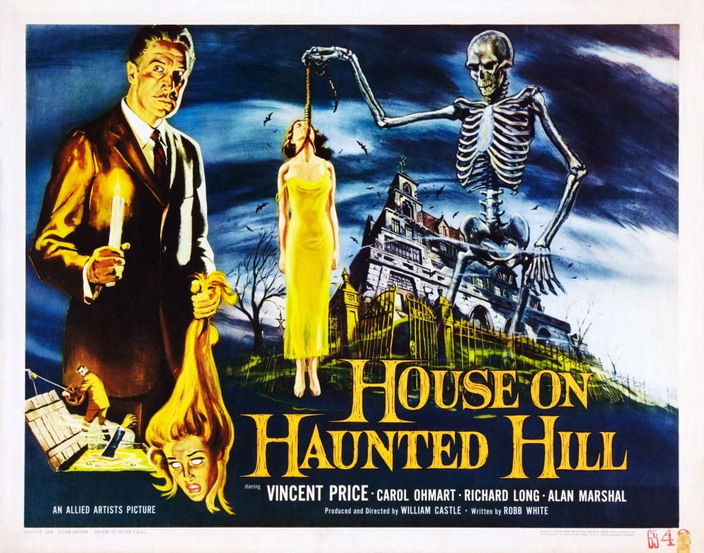 poster for the House on Haunted Hill