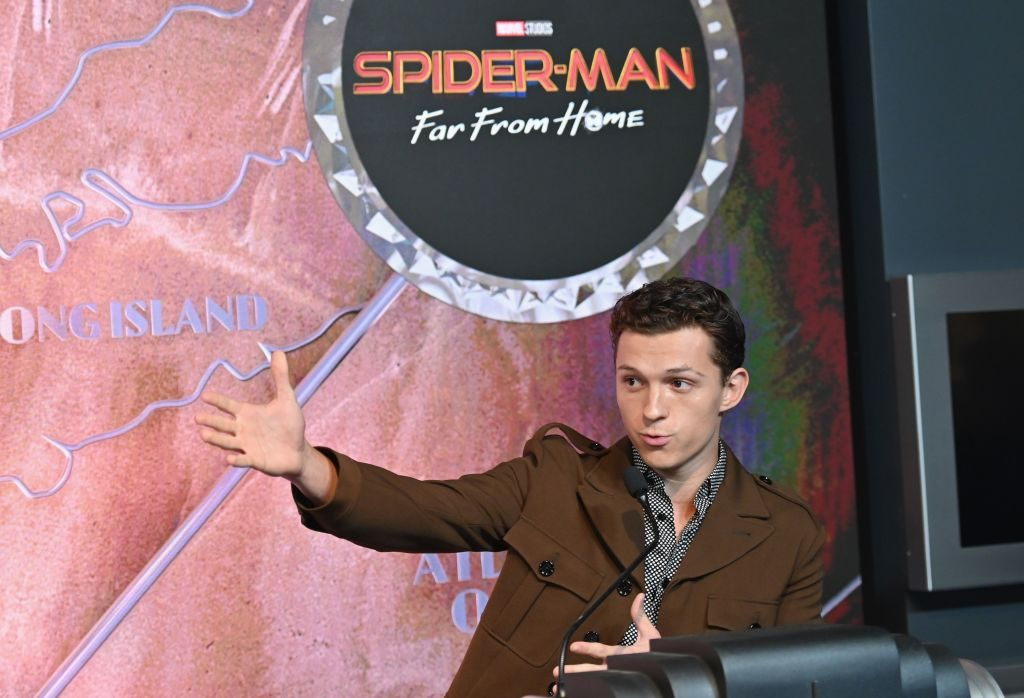 Actor Tom Holland of 'Spider-Man: Far From Home'