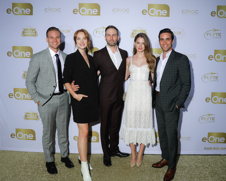 The cast of 'When Hope Calls'