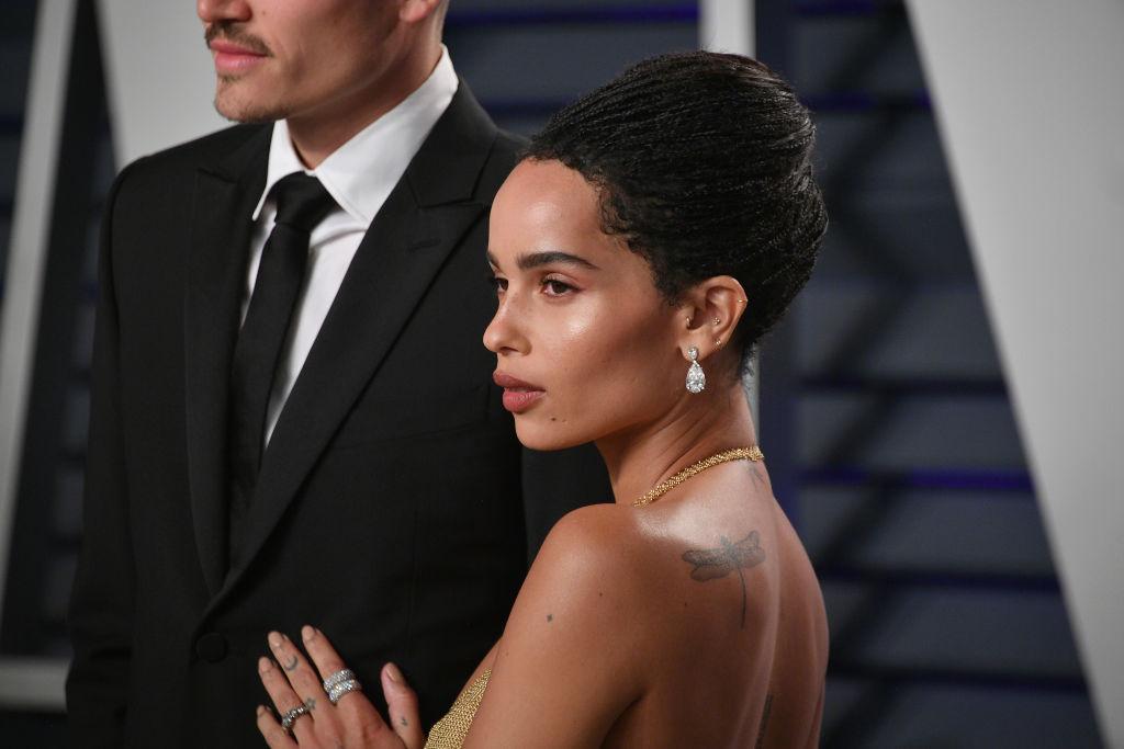 Zoë Kravitz at Vanity Fair's Oscar Party, 2019.