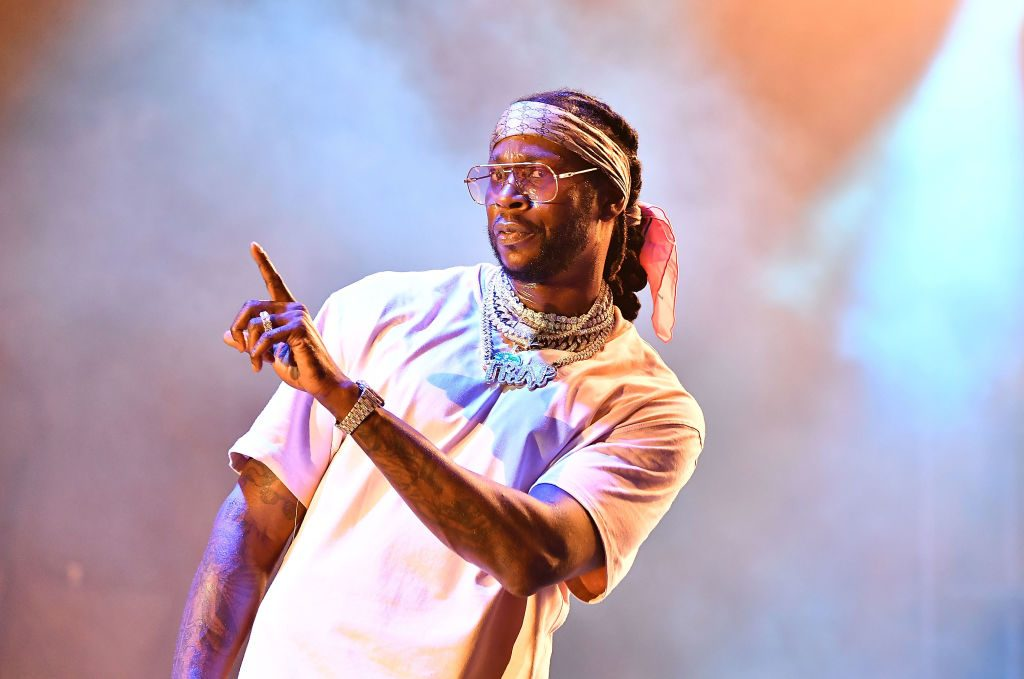 Rapper 2 Chainz performs onstage.