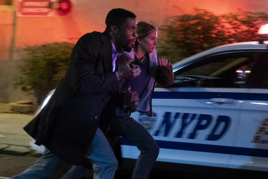 Chadwick Boseman and Sienna Miller are blue bloods in New York