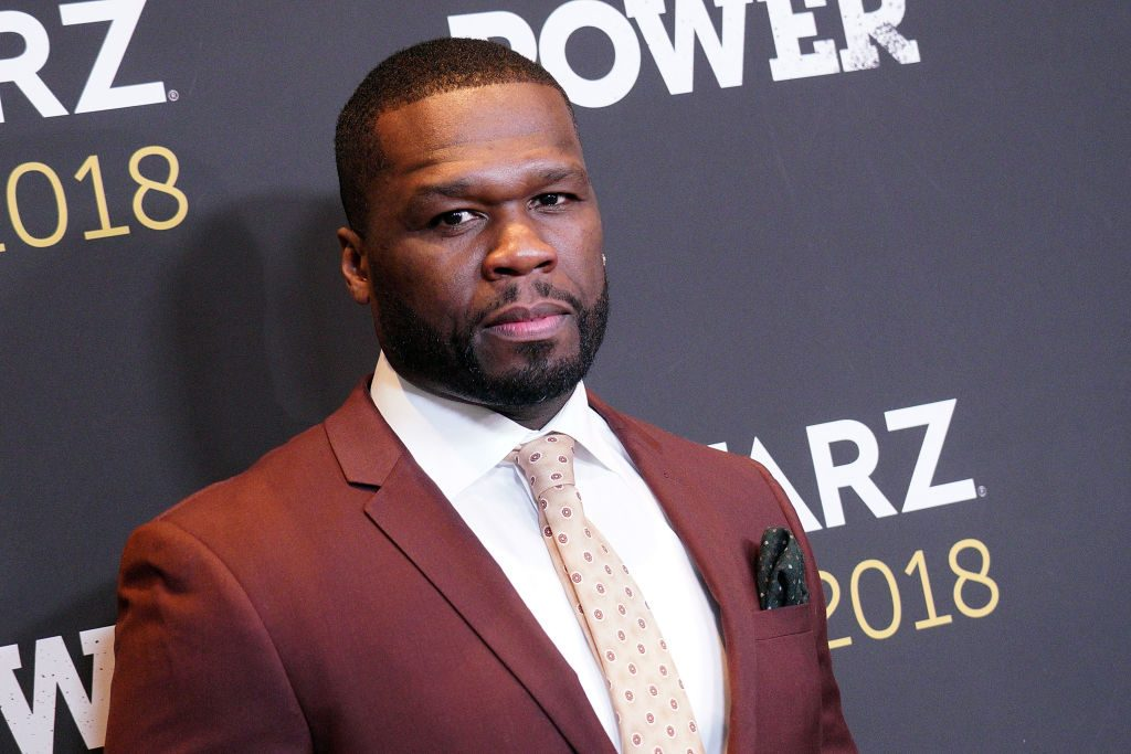 50 Cent on the red carpet