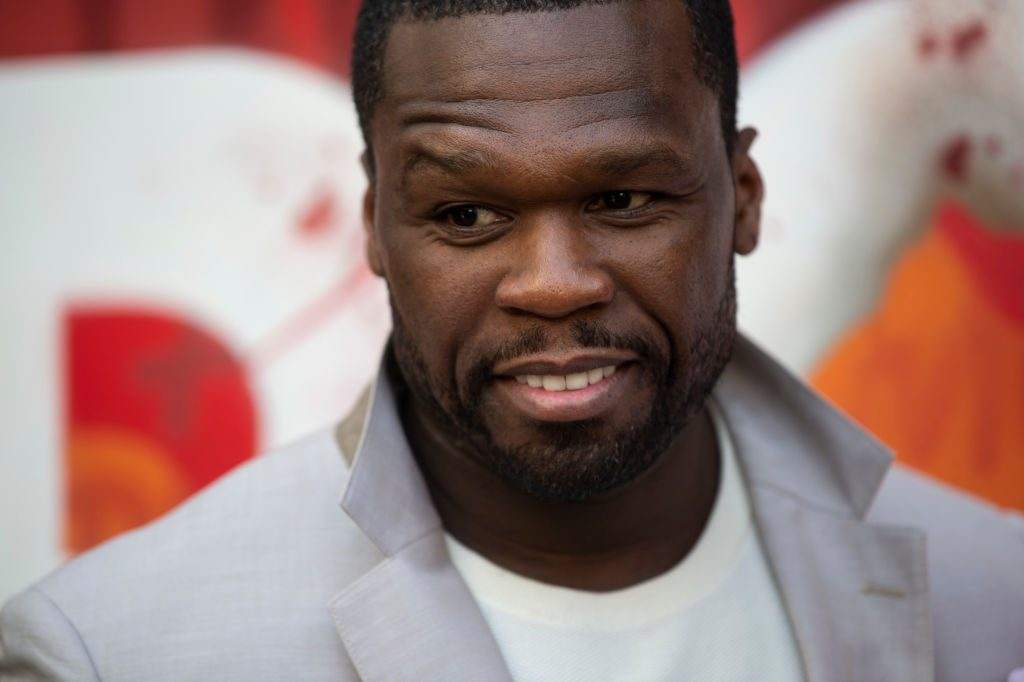 Curtis '50 Cent' Jackson on the red carpet