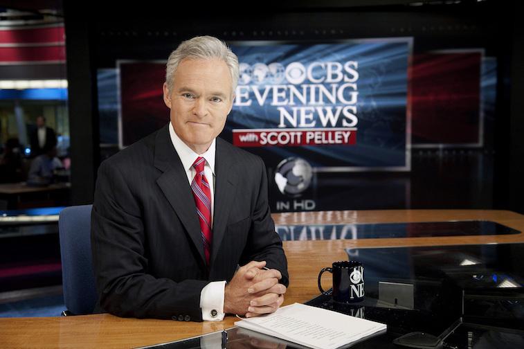 Scott Pelley on CBS morning news