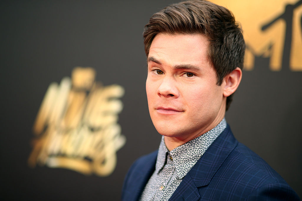 Adam Devine on the red carpet