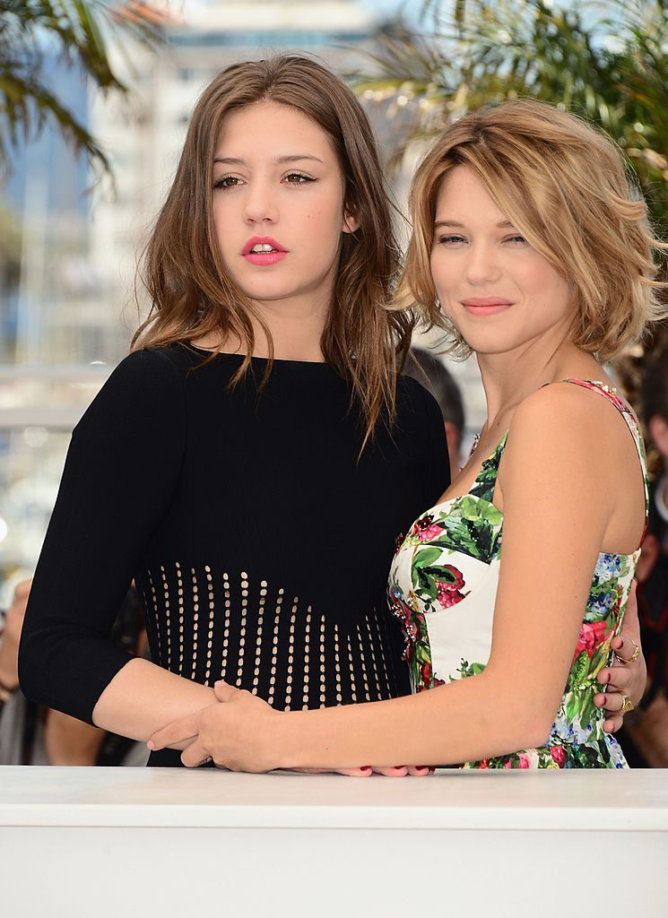 Blue is the Warmest Color at Cannes