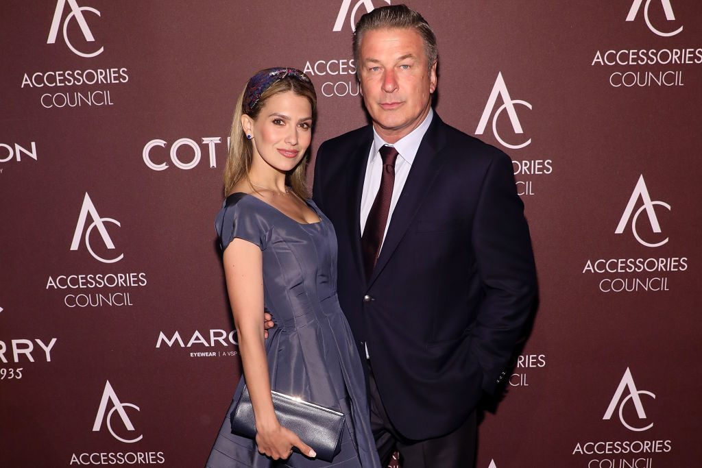 Alec and Hilaria Baldwin on the red carpet