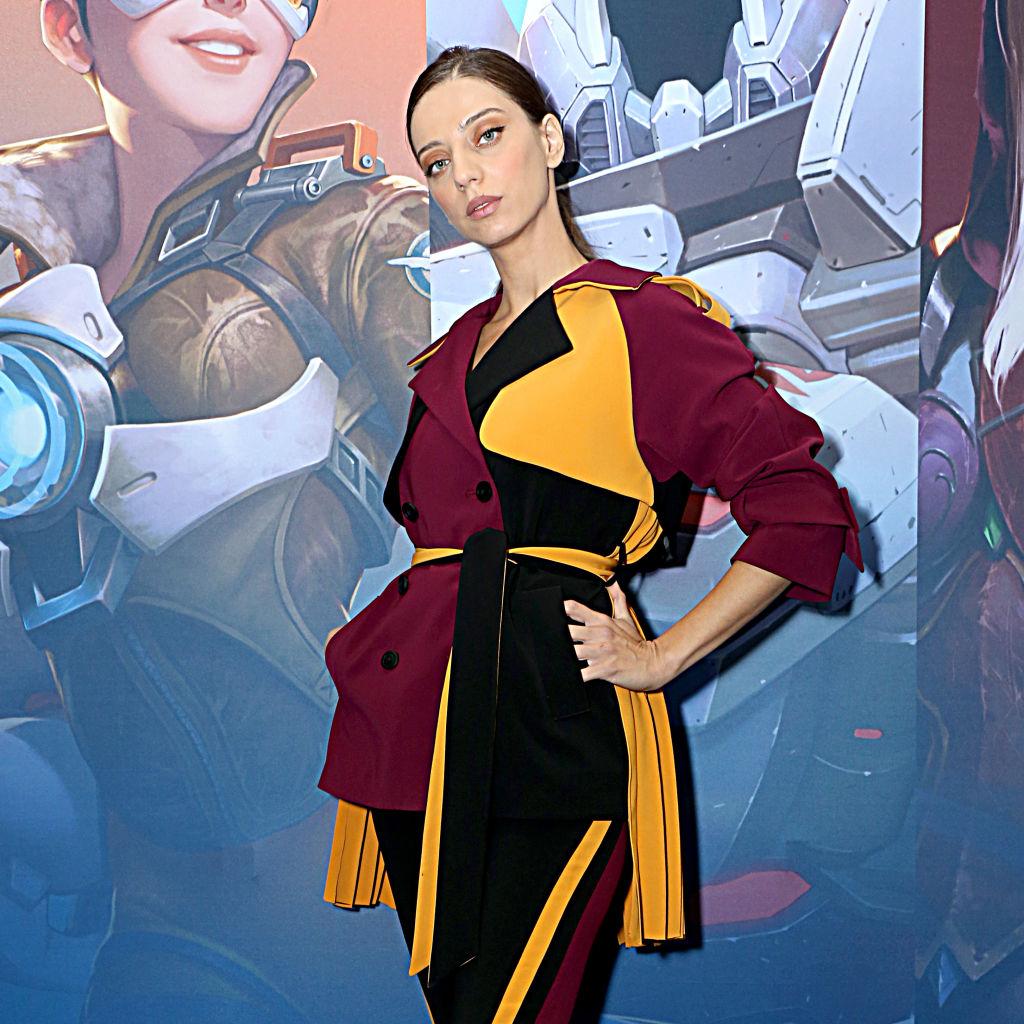 Angela Sarafayan at BlizzCon