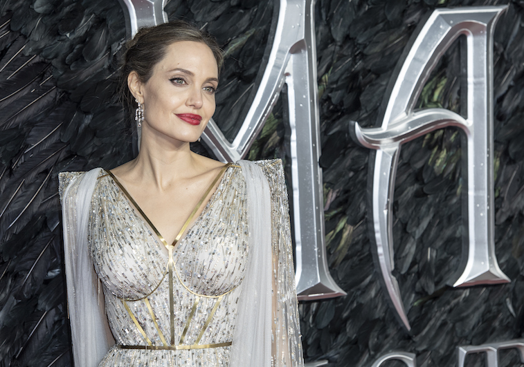 Angelina Jolie on the red carpet