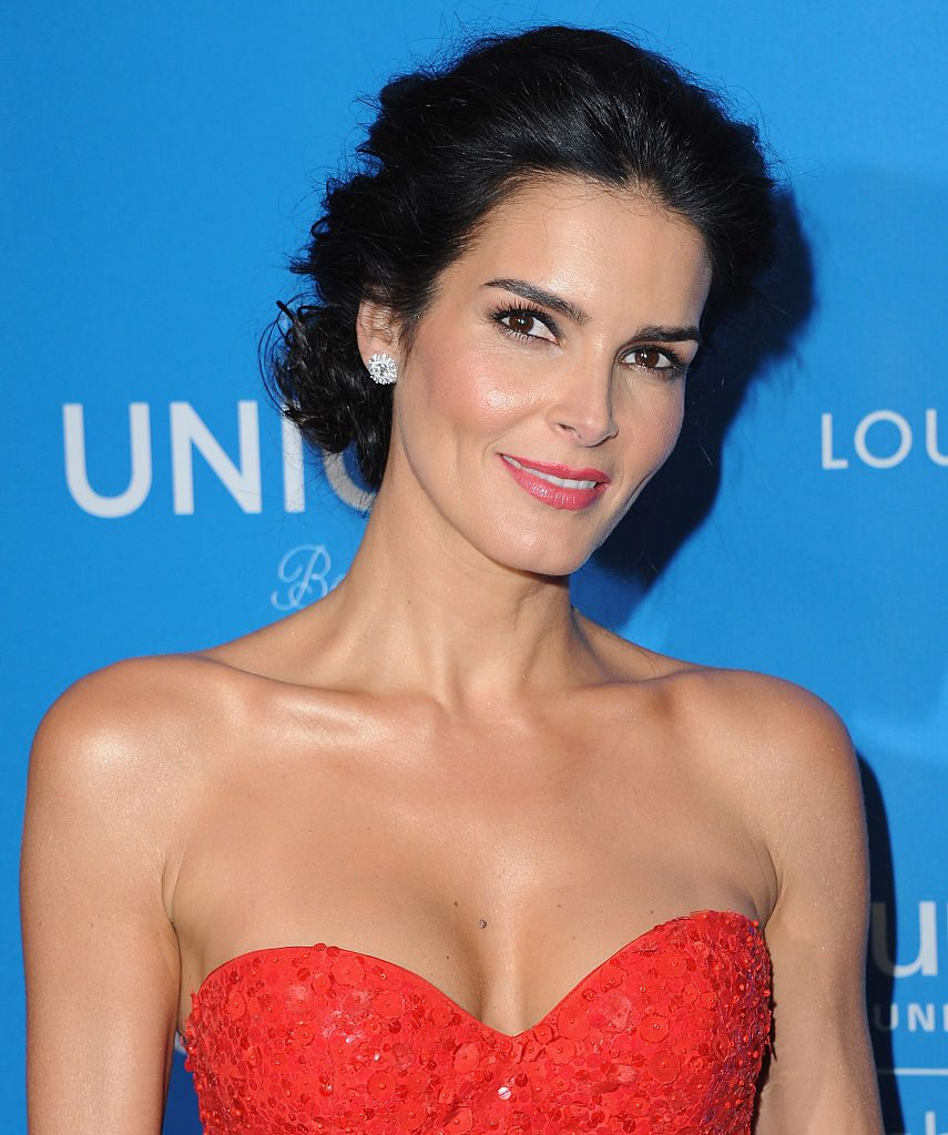 Angie Harmon of Rizzoli and Isles