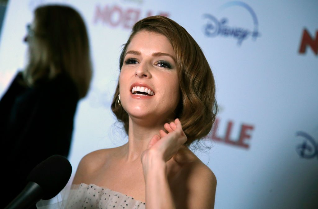 "Anna Kendrick attends ""Noelle"" New York screening"