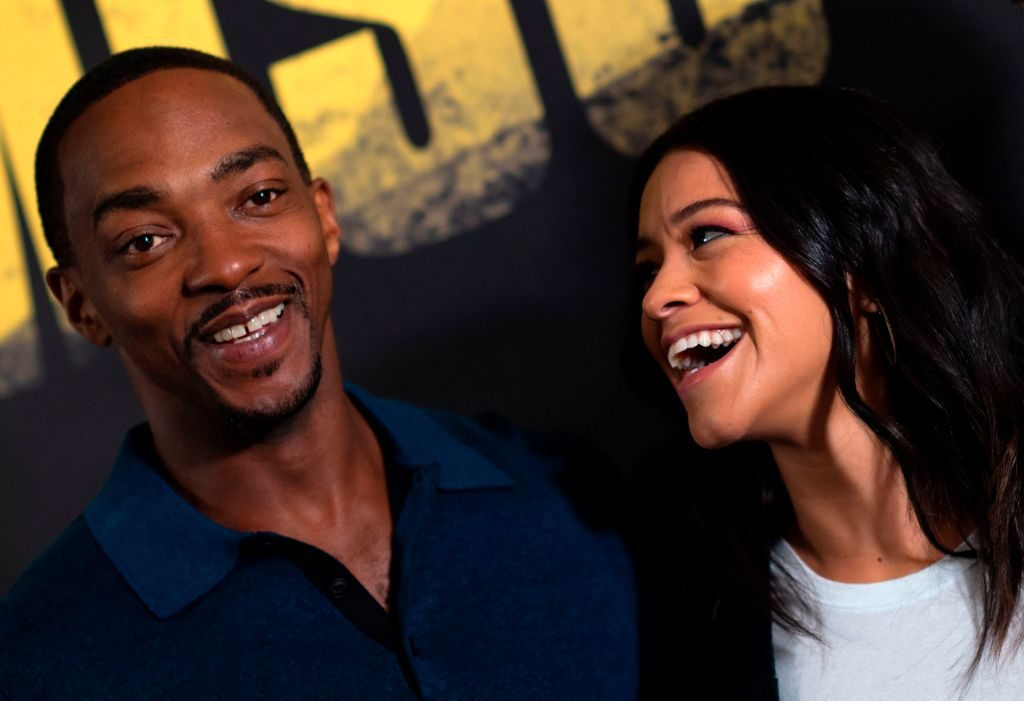 Anthony Mackie and Gina Rodriguez