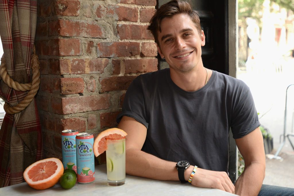 "Vita Coco and Netflix's ""Queer Eye"" star Antoni Porowski"