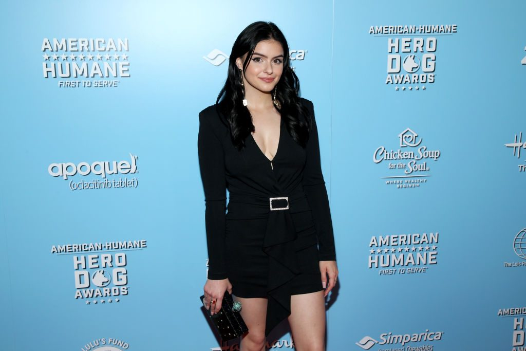Ariel Winter attends the 9th Annual American Humane Hero Dog Awards