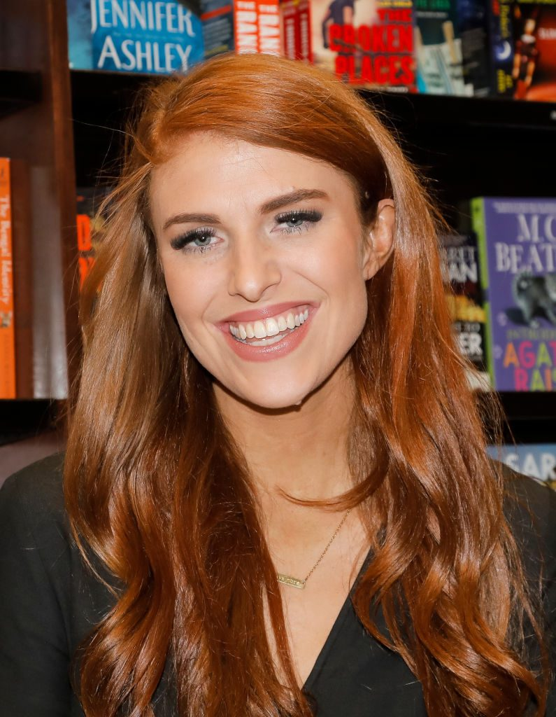 Audrey Roloff celebrates her new book, 'A Love Letter Life,' at Barnes & Noble