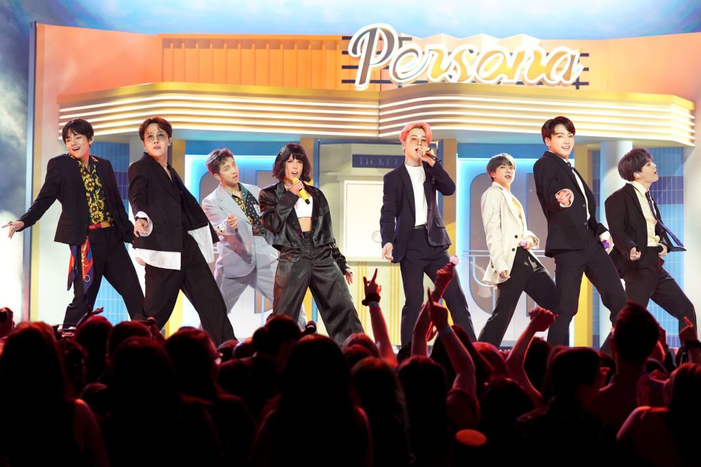 BTS and Halsey at the 2019 BBMAs Todd Williamson/NBCU