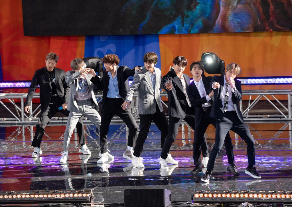 BTS charts