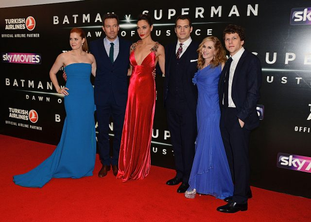 The cast of 'Batman v Superman: Dawn of Justice'