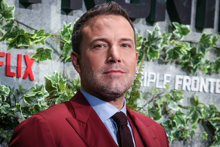 Ben Affleck on the red carpet