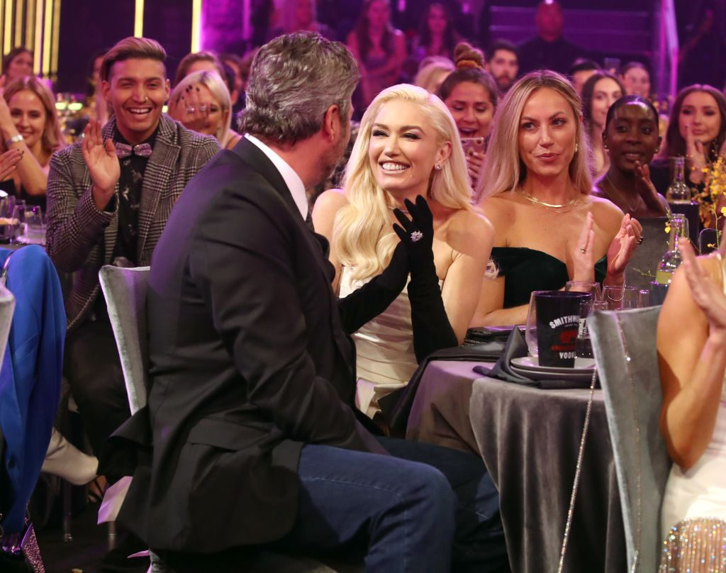 Blake Shelton and Gwen Stefani attend the 2019 E! People's Choice Awards