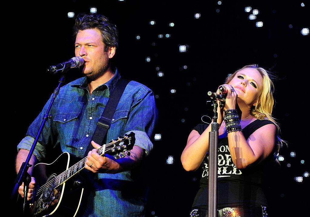 Blake Shelton and Miranda Lambert