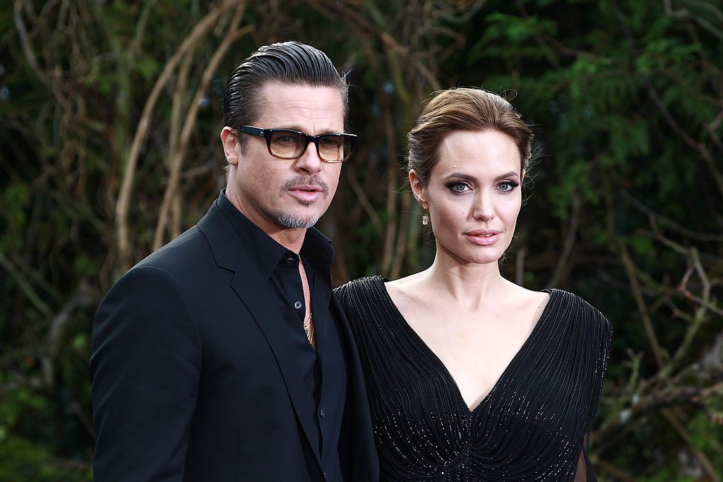 Brad Pitt and Angelina Jolie on the red carpet