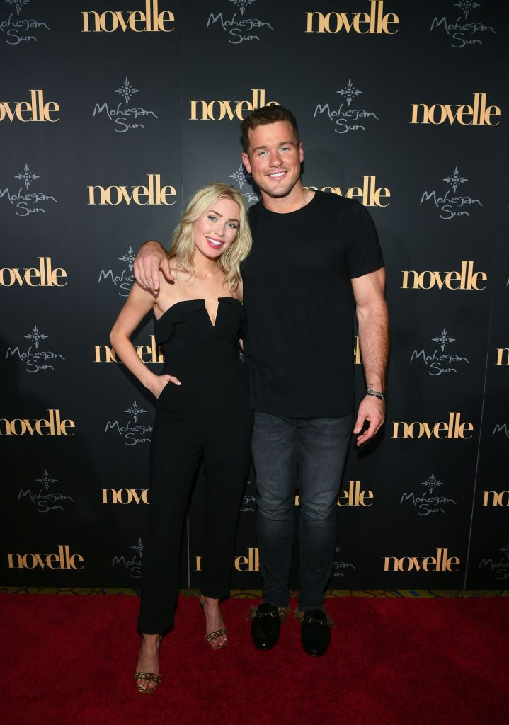 Cassie Randolph and Colton Underwood   Dave Kotinsky/Getty Images for Mohegan Sun