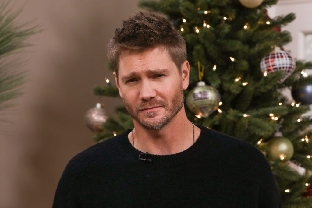 """Chad Michael Murray Visit Hallmark Channel's """"Home & Family"""""""