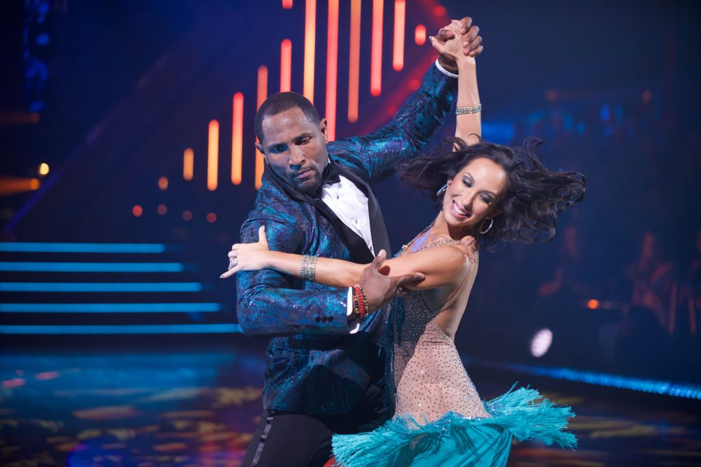 Cheryl Burke and Ray Lewis on 'Dancing with the Stars'